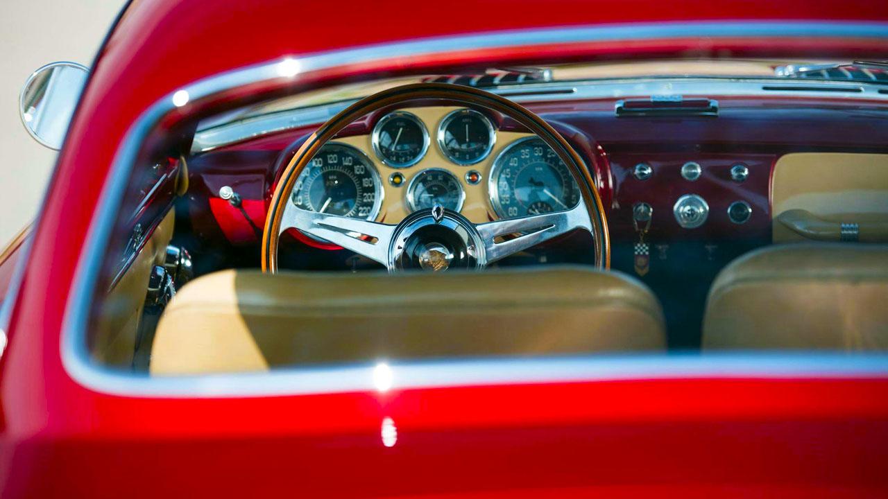 Интерьер 1952 Jaguar XK120 Supersonic by Ghia