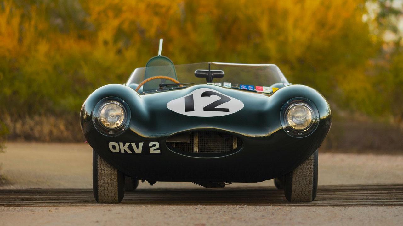 Jaguar D-Type 1954