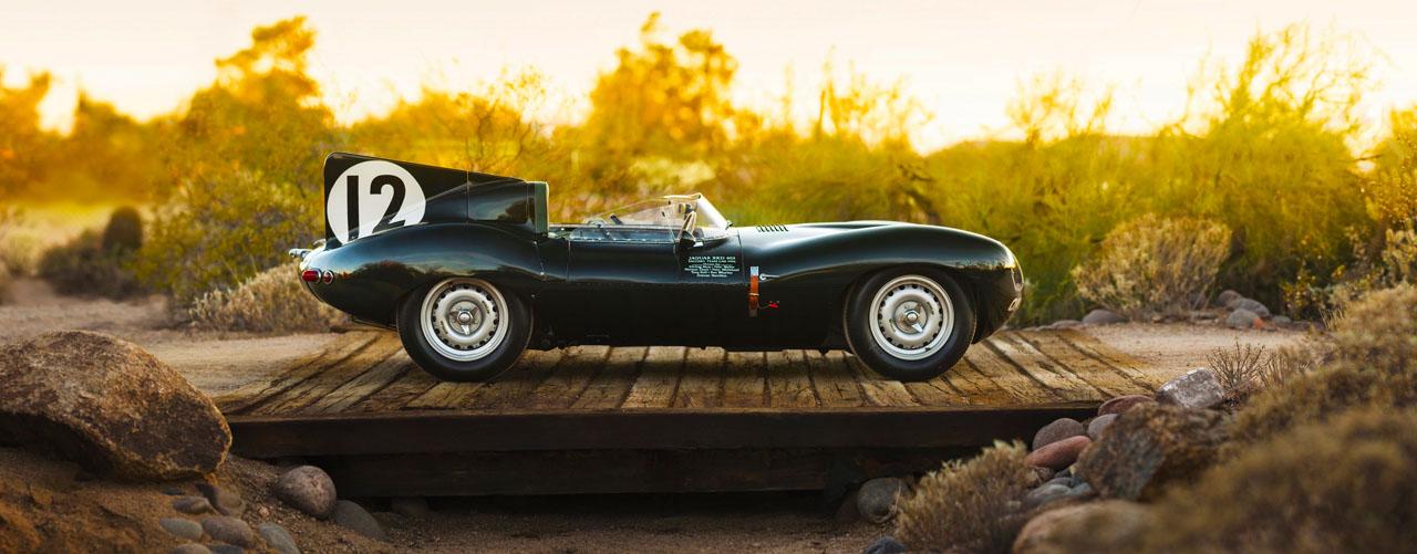 LeMans Jaguar D-Type 1954
