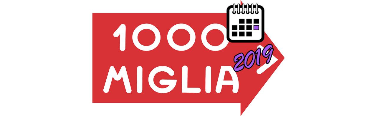 MILLE MIGLIA BIG LOGO Календаря 2019