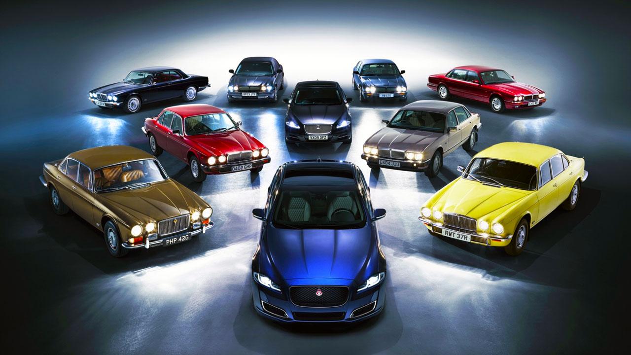 Модельный ряд Jaguar XJ