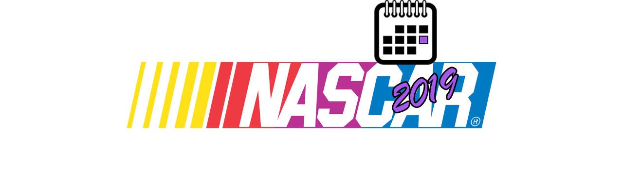 NASCAR BIG LOGO Календаря 2019