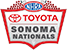 NHRA Sonoma Nationals LOGO 50px