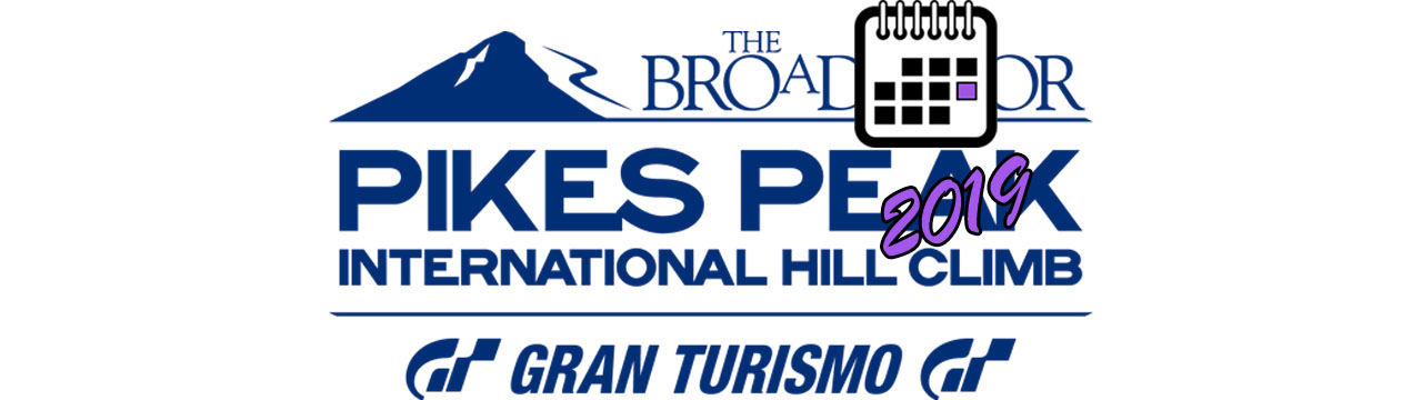 Pikes Peak International Hill Climb BIG LOGO Календаря 2019