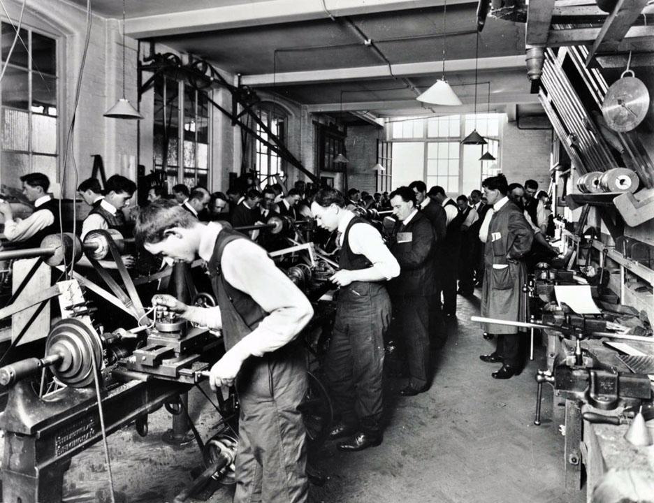 Завод Ягуар во время Второй Мировой