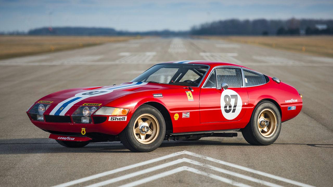 1971 Ferrari 365 GTB4 Daytona Berlinetta Competizione Conversion