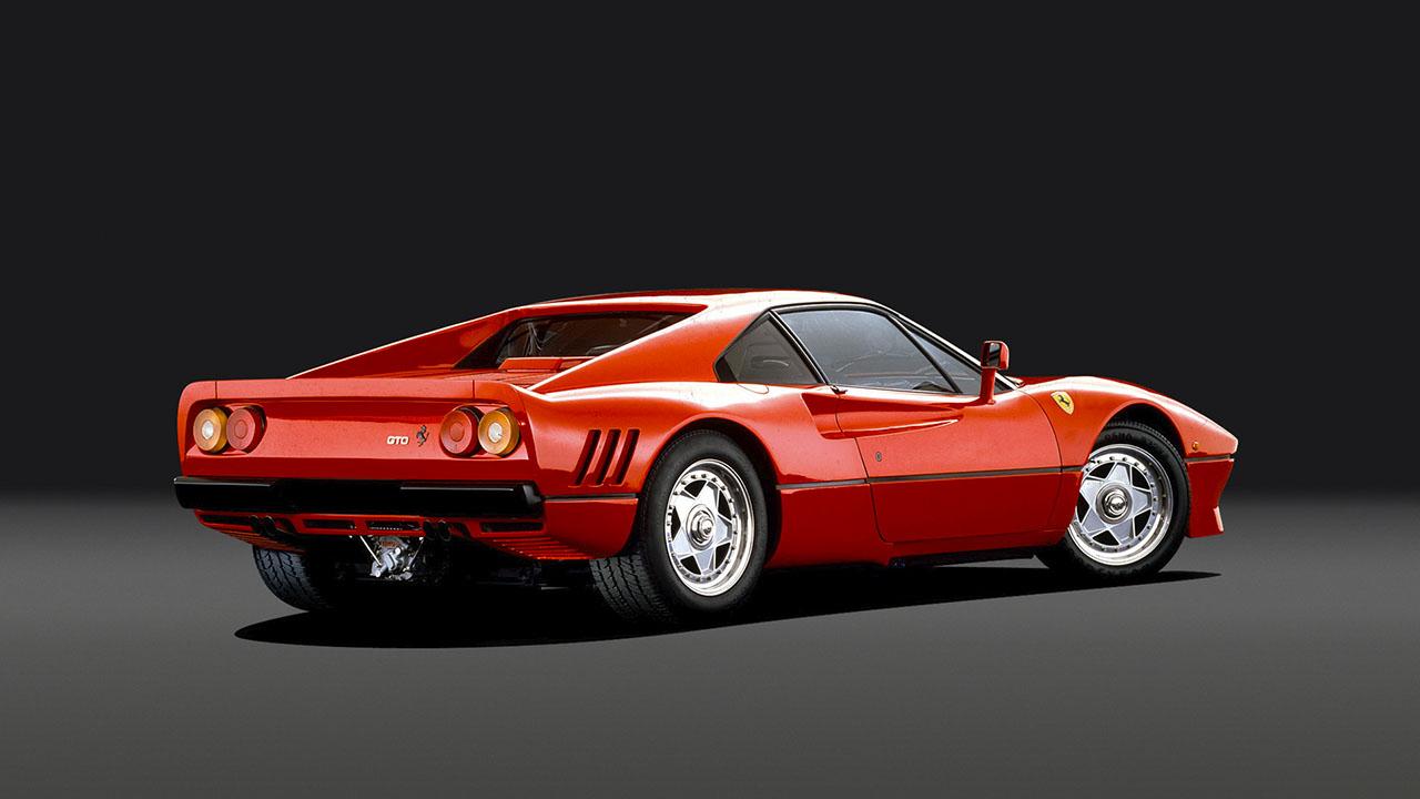 1984 Ferrari 288 сзади