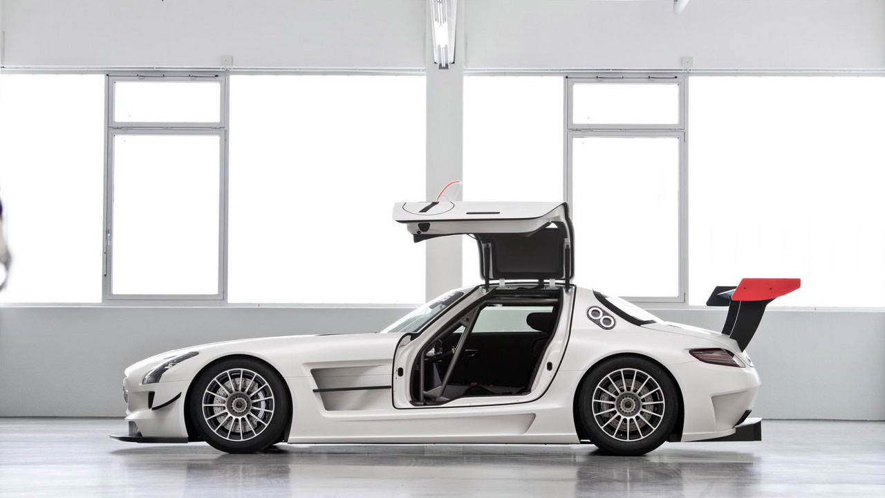 2011 Mercedes SLS AMG GT3 Крыло чайки