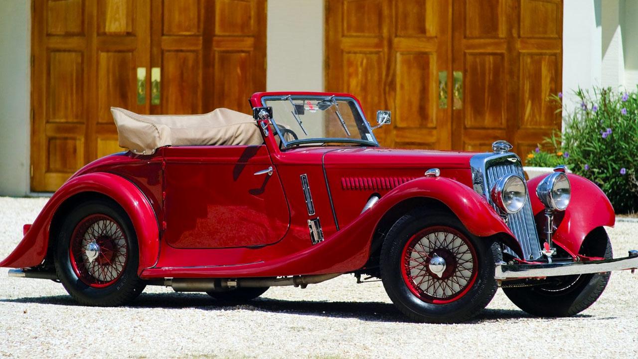 Aston Martin Drophead 1937