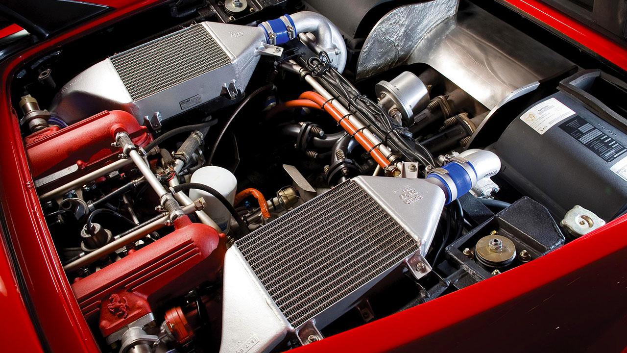 Двигатель Ferrari GTO