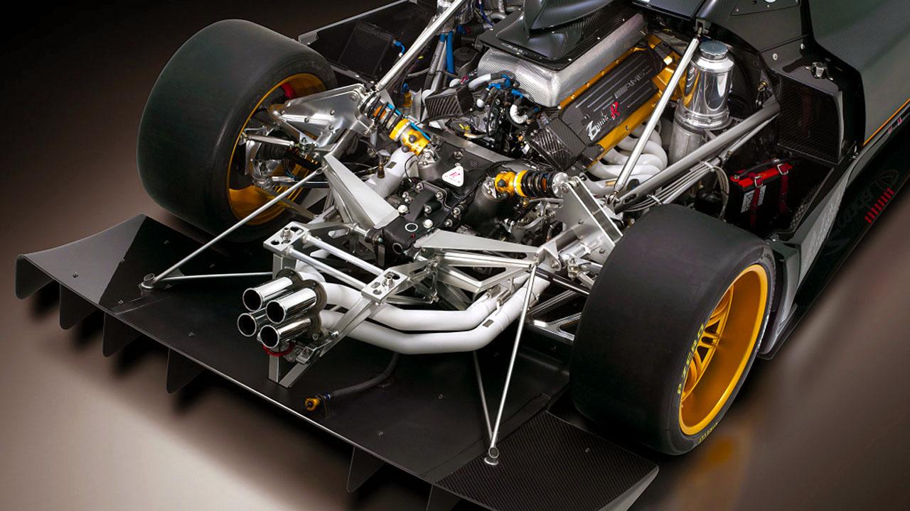 Двигатели и Рама Зонда R 2009