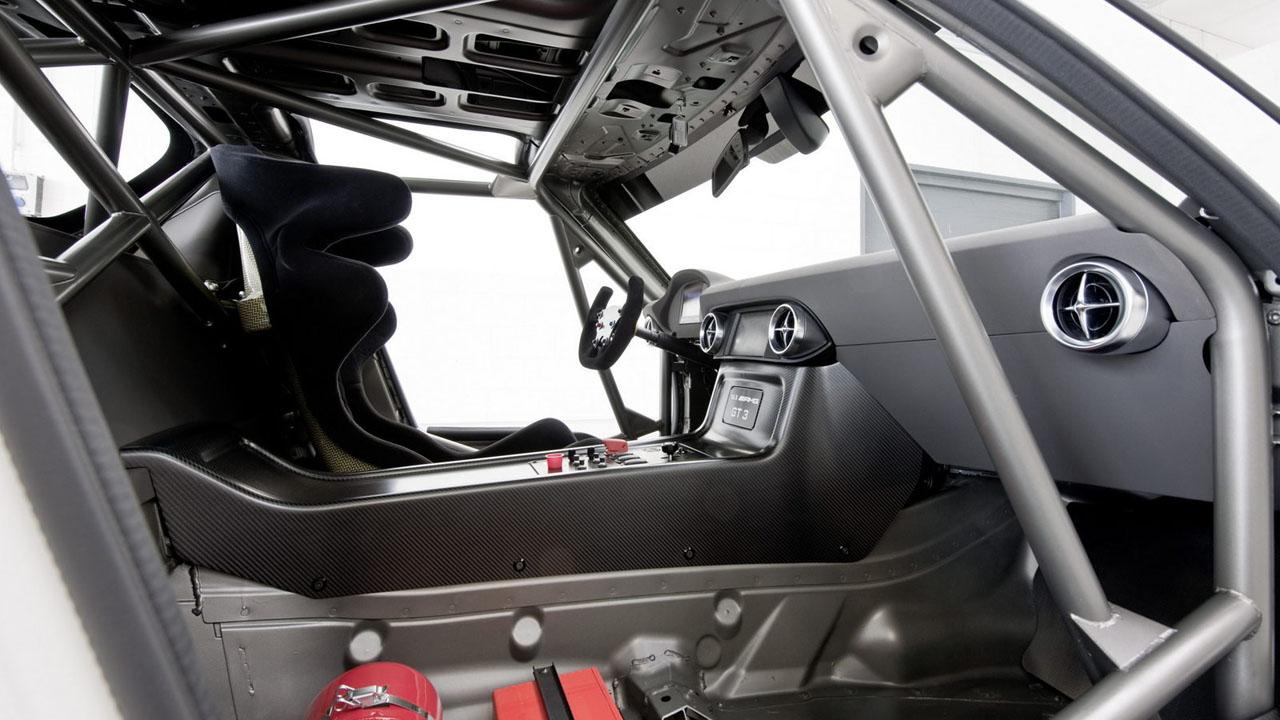 Пространственная рама гоночного SLS AMG GT3