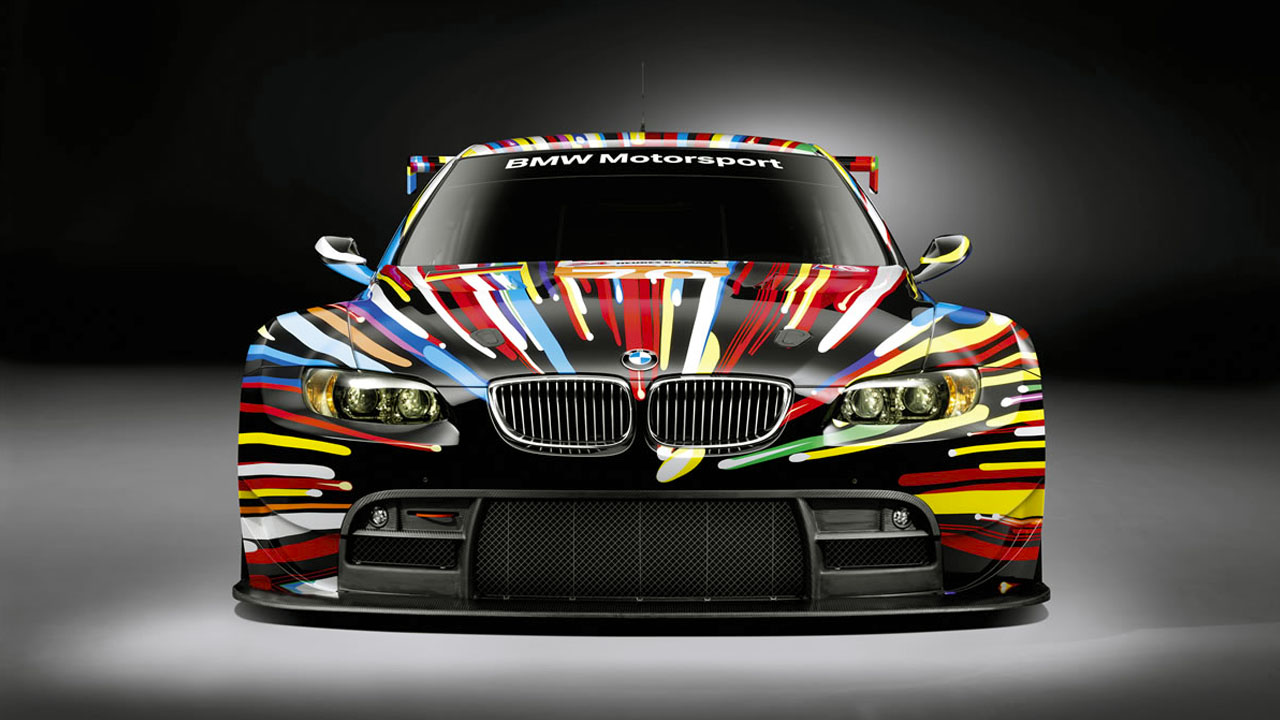 BMW M3 GT2 Art Car by Jeff Koons