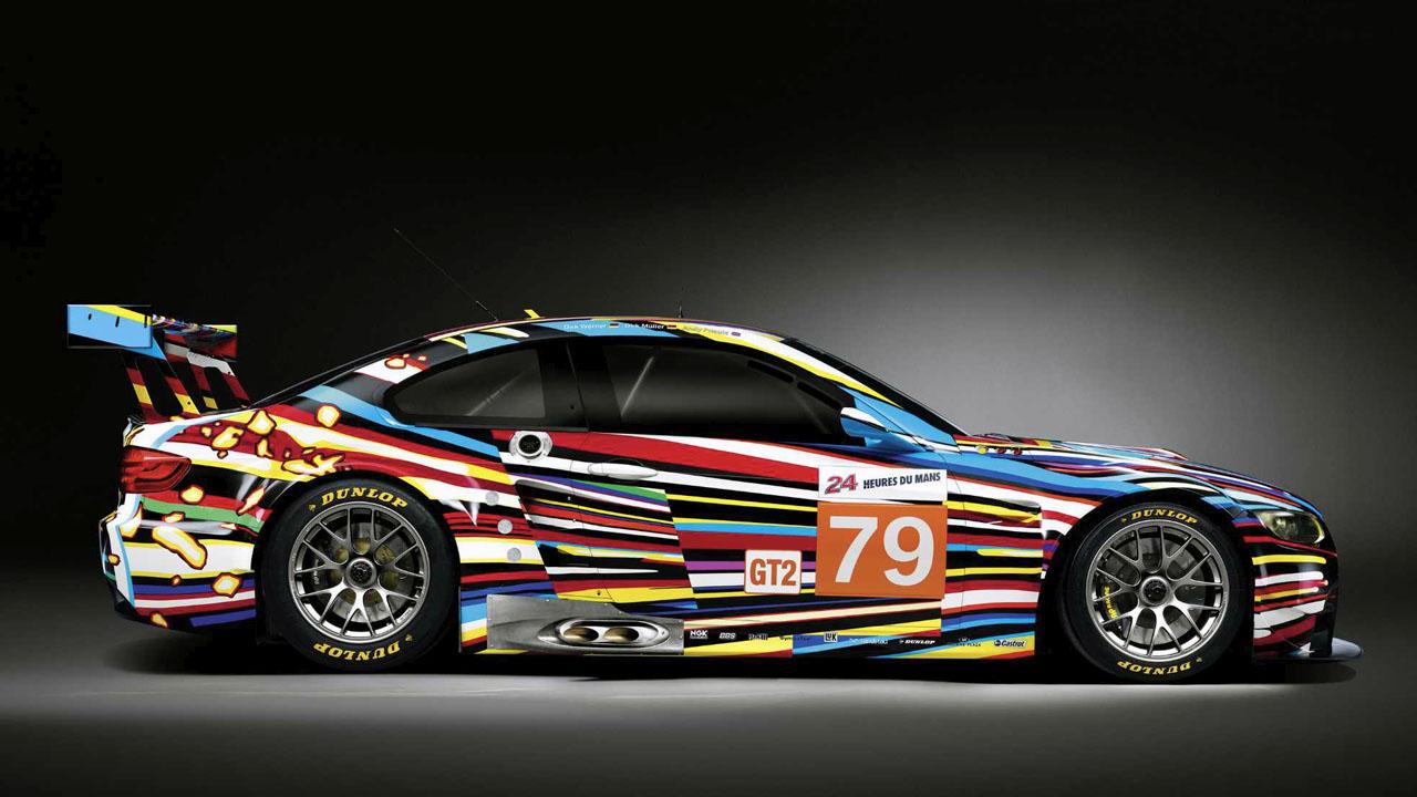 BMW M3 GT2 вид сбоку