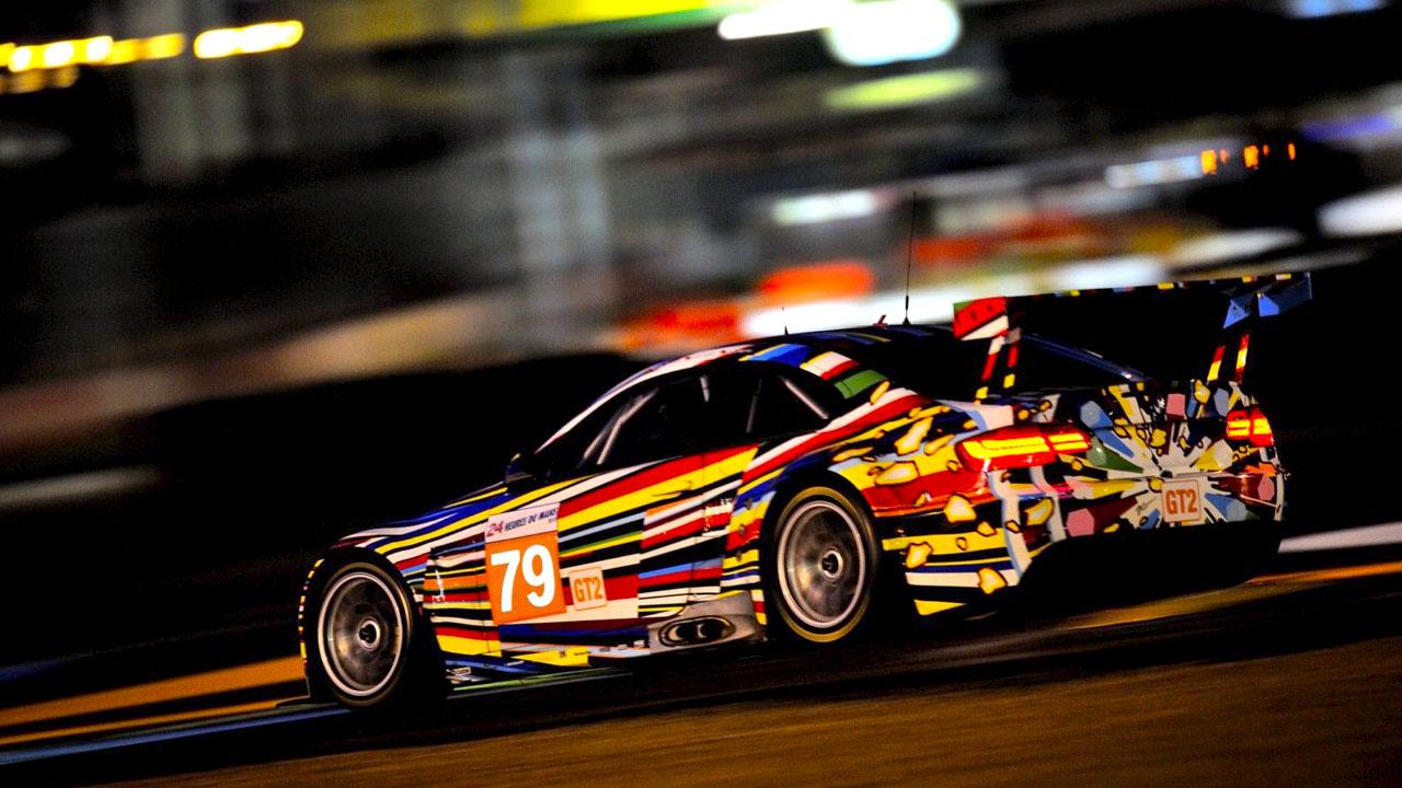 BMW M3 в гонке GT2