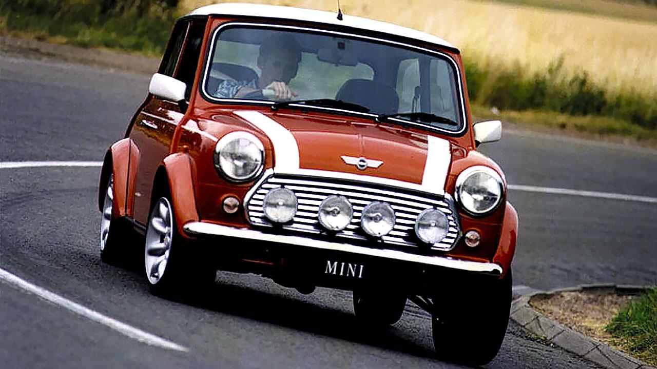 mini cooper 1963