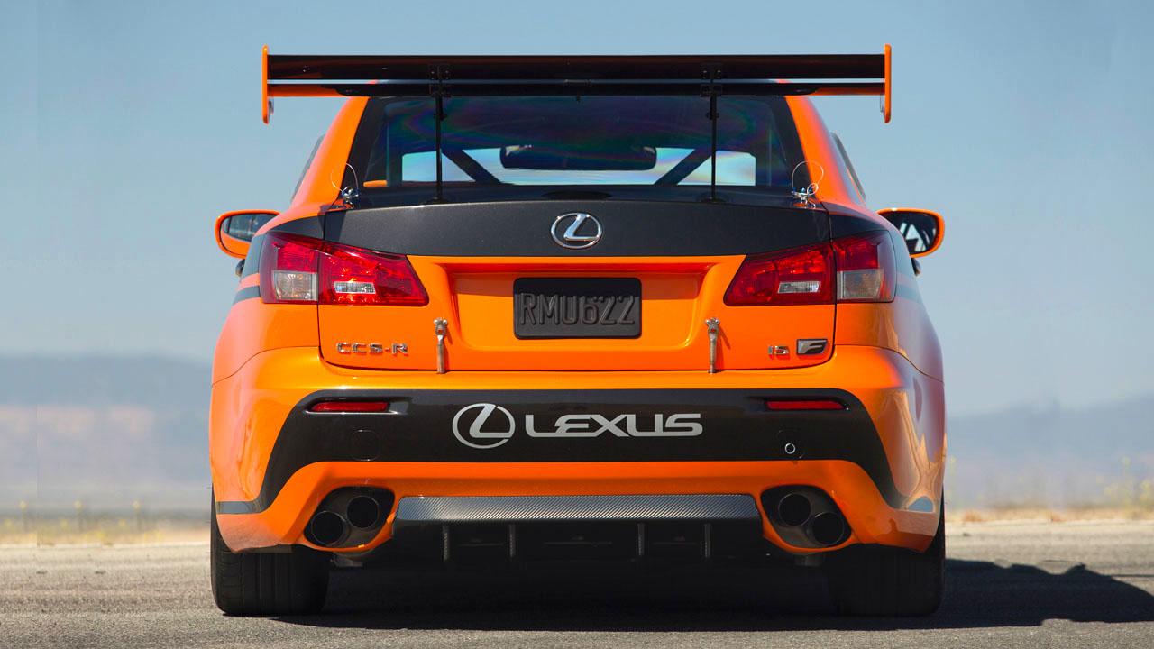 Lexus IS F CCS-R 2011