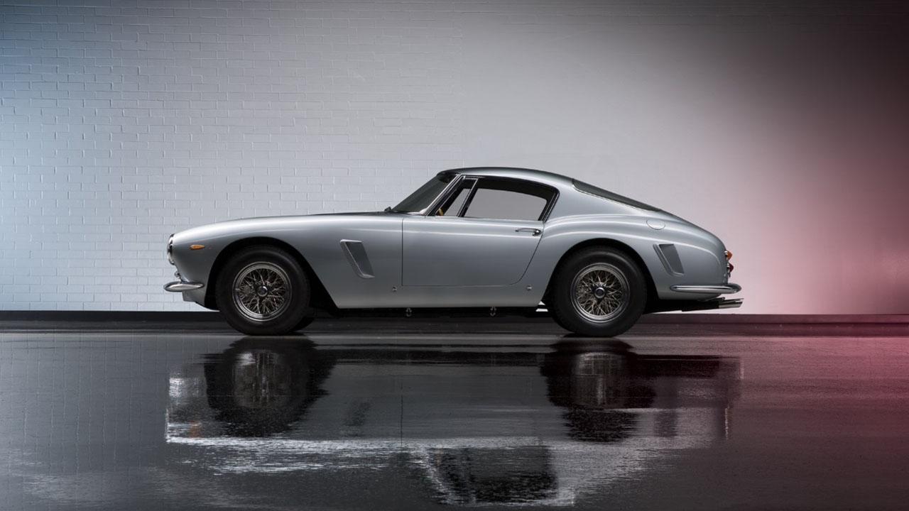 250 GT SWB вид сбоку
