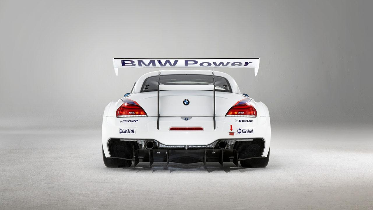 BMW Z4 GT3 Сзади
