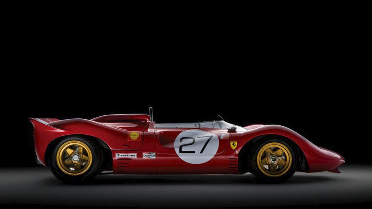 Ferrari P4 сбоку