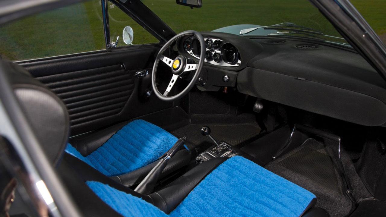 Интерьер Дино 246 GT