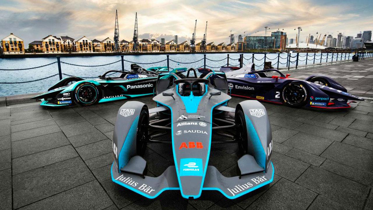 Болиды Eprix Formula E 2019–20