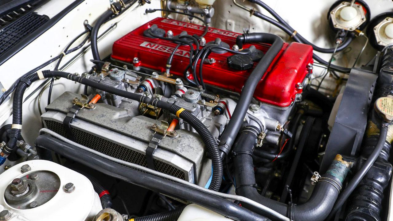 Nissan SILVIA 240RS S110 - 1983 — двигатель