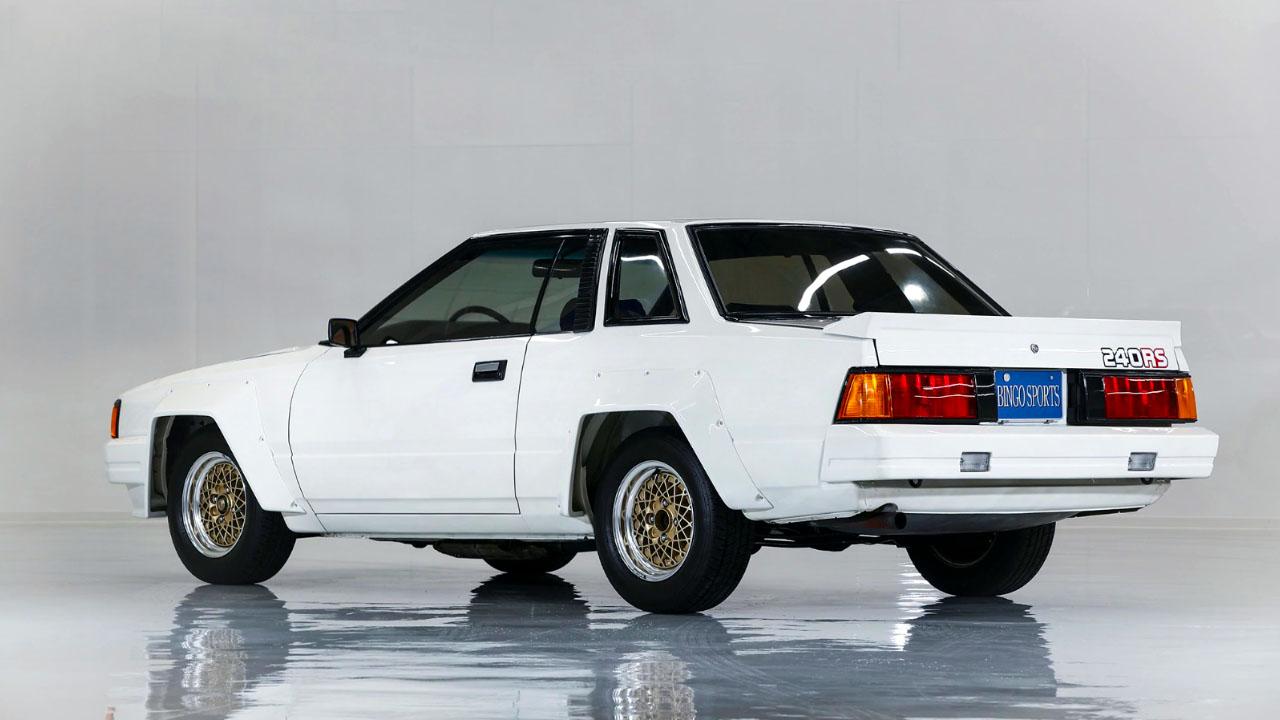 Nissan SILVIA 240RS S110 - 1983 — вид сзади